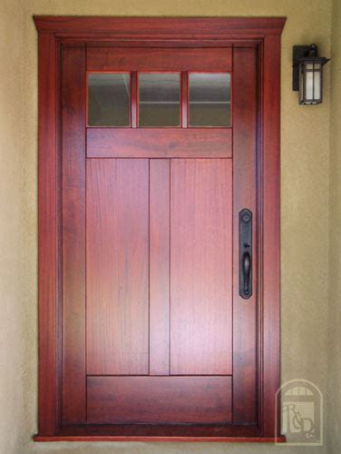 Hints On Buying Craftsman Style Entry Doors Interior Craftsman Exterior Doors