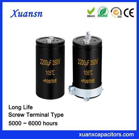 capacitor lifespan hours 2200uf 350v motor capacitor terminal type