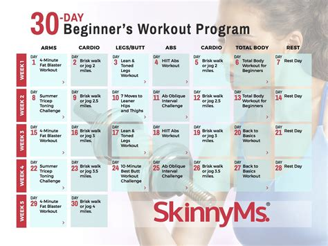 8 Best Workouts For In Their 30s by 30 Day Beginner S Workout Calendar Workout Calendar