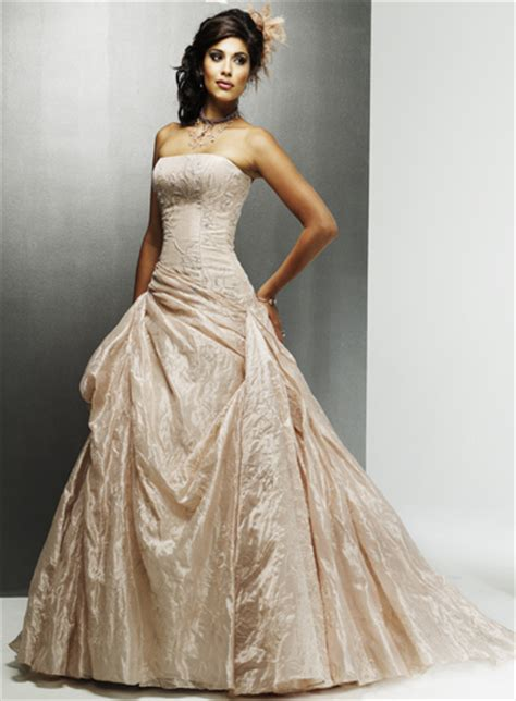 champagne colored wedding dresses best dress choice