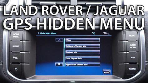 range rover sport sat nav upgrade range rover evoque jaguar f type menu navigation