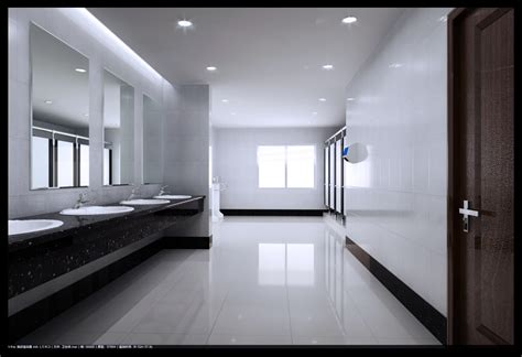 Online Free Room Designer spacious polished public toilet 3d model max cgtrader com