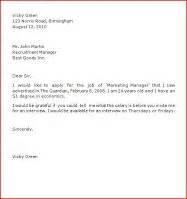 application letter samples business letter samples