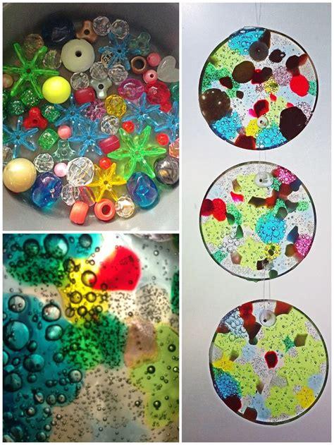 plastic bead suncatchers 17 best ideas about melting plastic on