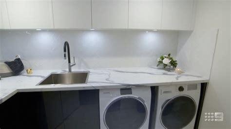 the block powder room laundry amp cellar reveals the block 2018