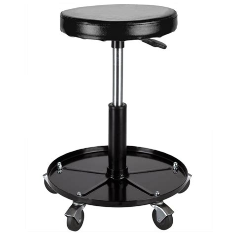 Mechanics Stools by Black Widow Rolling Shop Seat Mechanics Stool With Tool