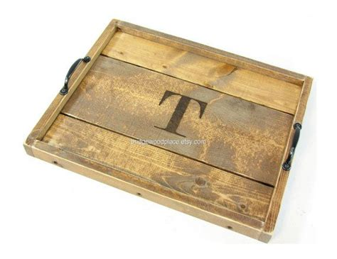 wooden serving tray for ottoman serving tray wooden ottoman tray coffee table tray with