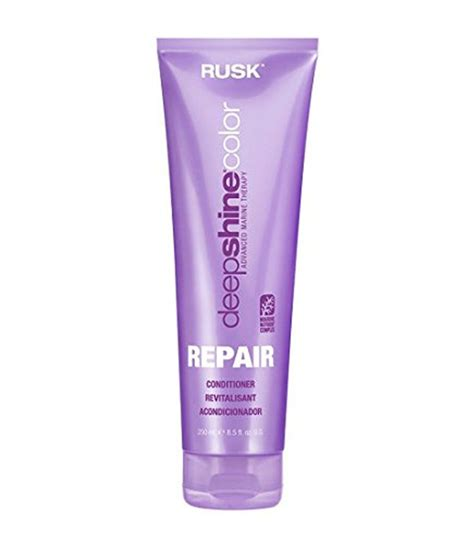 rusk shine color rusk deepshine color repair conditioner buy rusk
