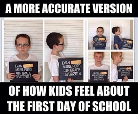 First Day Of School Meme - first day of school memes