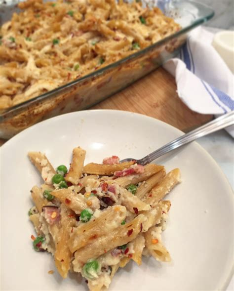 pasta bake recipes baked pasta carbonara