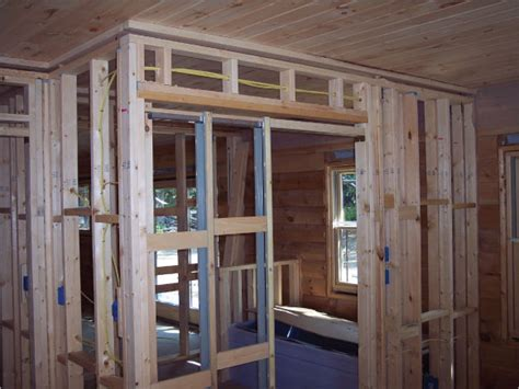 Framing An Interior Wall With A Door How To Install Pocket Door Frames
