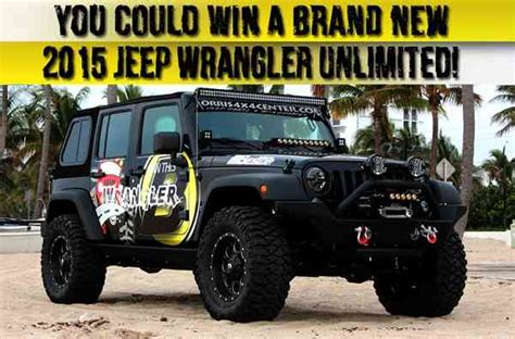 Jeep Sweepstakes 2015 - 2015 jeep wrangler jeep giveaway sweepstakesbible