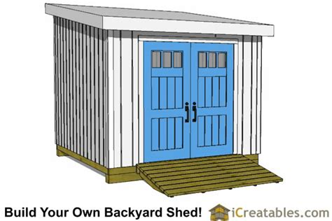 large shed plans   build  shed outdoor storage