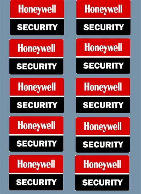home security decals yard signs alarm ebay
