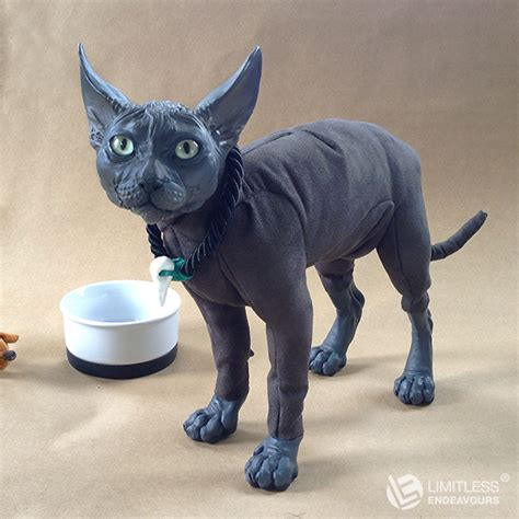black doll cat black sphynx cat doll by limitlessendeavours on deviantart