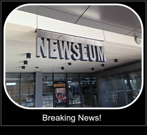 don t be a tourist in the nessy chic guide books breaking news don t miss a visit to the newseum in