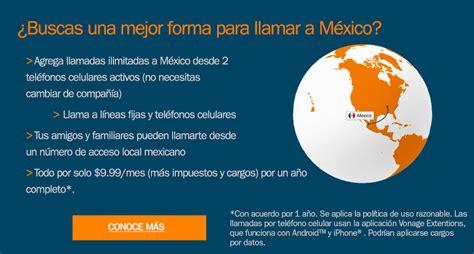 codigo para llamar a un celular en mexico c 243 mo llamar a mexico desde ee uu blog de vonage