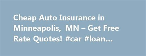 Discount Car Insurance Rates by 25 Best Free Car Insurance Quotes On Free Car