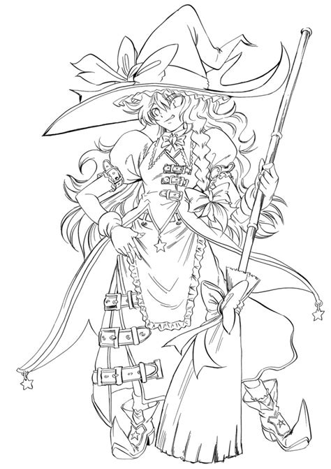 anime line art coloring pages az coloring pages