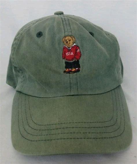 Topi Baseball Polo Caps Custom Deus mens ralph polo hat polo sport vintage euc