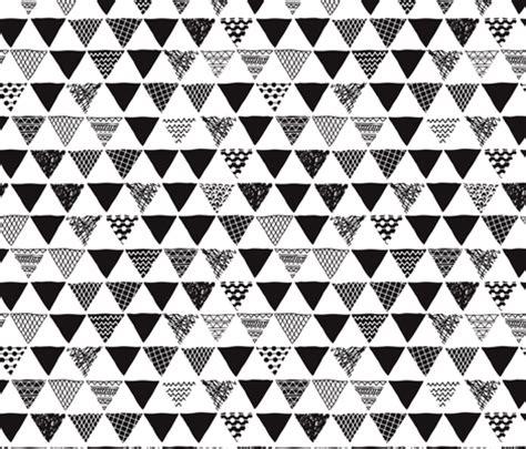 black and white aztec pattern fabric geometric tribal aztec triangle black and white gender