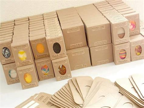 Packaging For Handmade Soap - simple packaging from passionfruit island soap