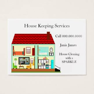 house cleaning business cards house cleaning business cards templates zazzle