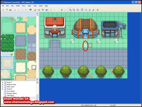 membuat game dengan rpg maker xp ilham wahabi gx ayo membuat game dengan rpg maker xp