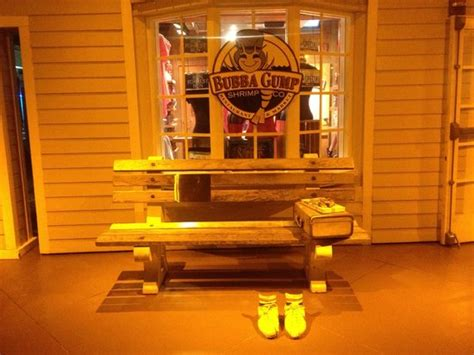 bubba gump bench bubba gump shrimp co fort lauderdale central beach menu prices restaurant