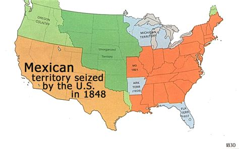 map of us states that belonged to mexico hla oo s stolen mexican territories retaken by