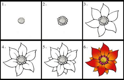 fiori facili da disegnare disegni fiori facili home visualizza idee immagine