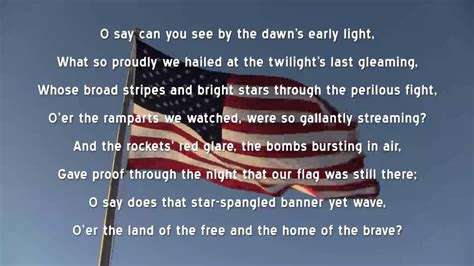 testo not fair spangled banner u s national anthem lyrics