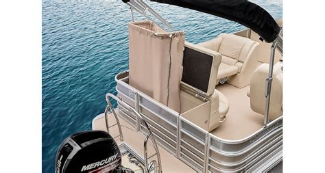 Changing Room For Pontoon Boat by Cozumel 220 Pontoon Boat Aluminum Pontoon Boats 2017