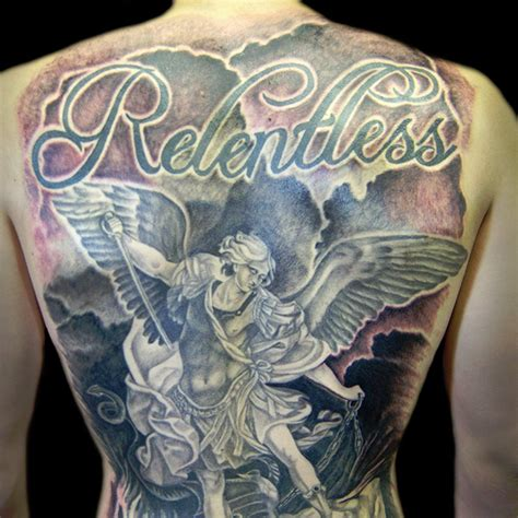 27 perfect st michael tattoo designs