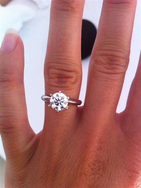 used on carat rings wedding promise