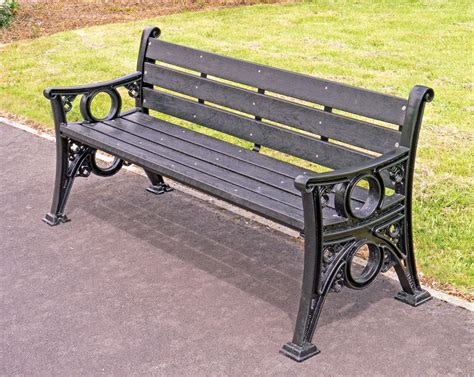 recycled bench seats 100 recycled park bench 7 u0027 outdoor bench for