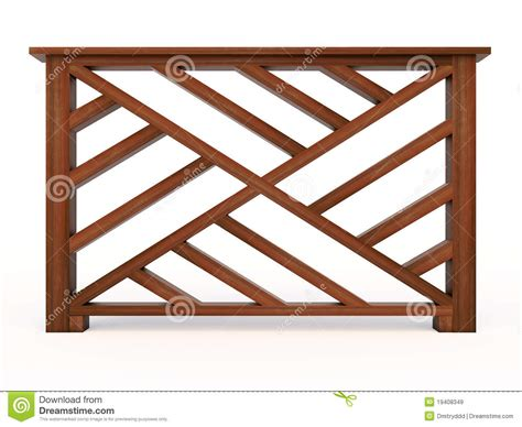 wooden design design wooden railing with wooden balusters royalty free
