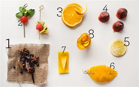 cocktail garnish eight new cocktail garnish ideas from top bartenders