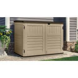 rubbermaid 121 gallon vertical storage shed walmart