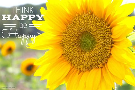 sunflower happy quote poster template postermywall
