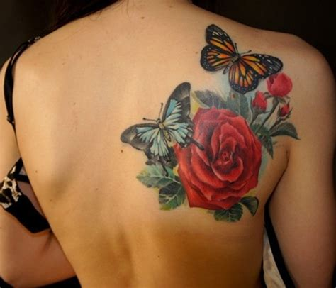 butterfly and rose tattoo meaning 60 amazing butterfly tattoos designs with meanings