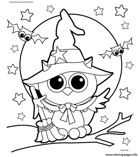 halloween coloring pages free download halloween owl coloring pages printable