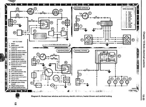 электросхема land rover discovery схема электрооборудования