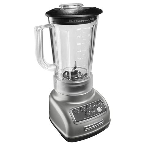 kitchenaid ksb1570 5 speed countertop blender w 56 oz