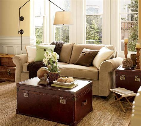 pottery barn room living room sofa design ideas from pottery barn homey