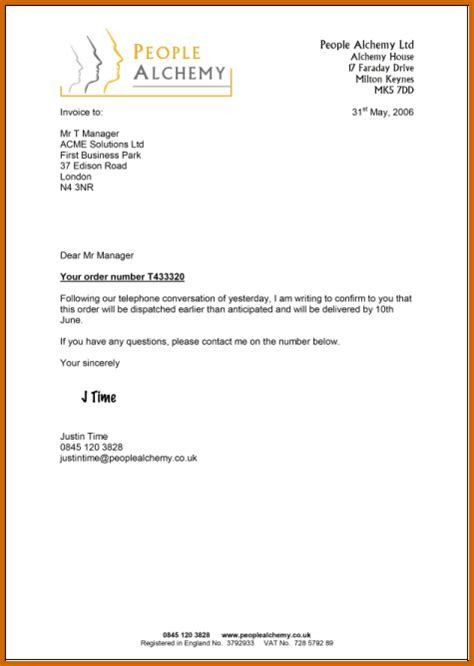 A Letter Template 8 How To Pp A Letter Exle Lease Template