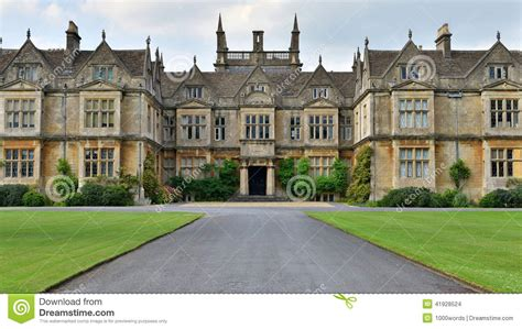 Tudor House by Old Country House Stock Photo Image 41928524