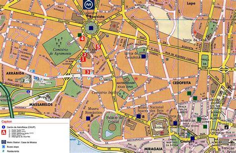 cartina porto mapas de porto portugal mapasblog