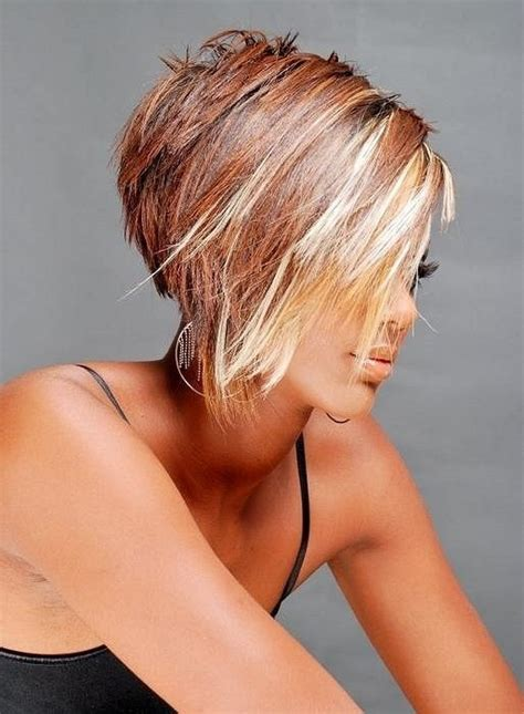 cute hairstyles and colors cute short hair pieced colors pinterest