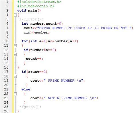 Find Number Find Prime Number In C C Programming Tutorial For Beginners